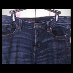 JCrew Lookout High Rise Jeans
